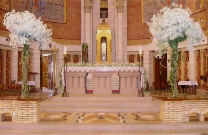 la pergola cholet amenagement fleurs mariage