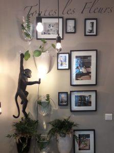 la pergola cholet objet decoration singe