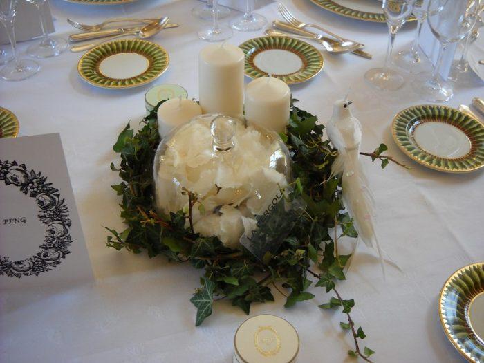 la pergola decoration de table