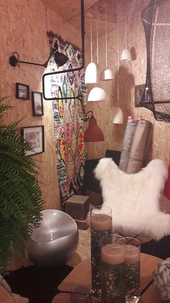 La Pergola Tapis Berbere bougies fauteuils luminaires