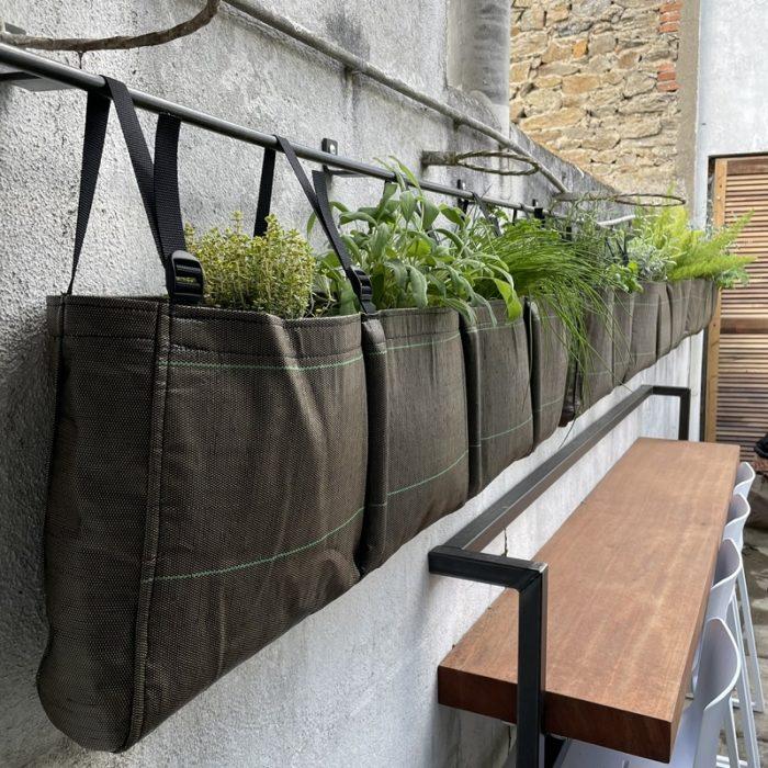 Installation de jardinieres Bacsac